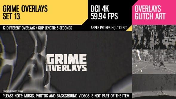 Thumbnail for Grime Overlays (4K Set 13)