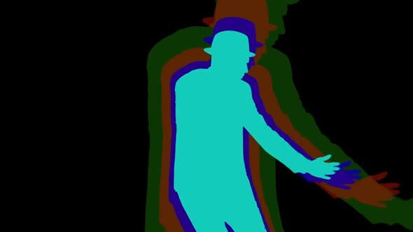 Thumbnail for Male Dancer Silhouette