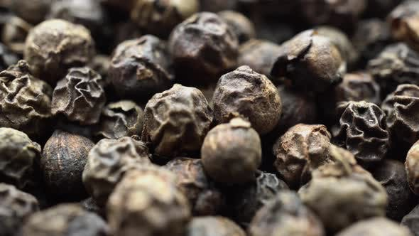 Thumbnail for Dry Black Pepper Close Up Rotation 2