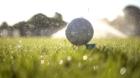 Cover Image for Unsuccessful Golf Club Hits a Golf Ball
