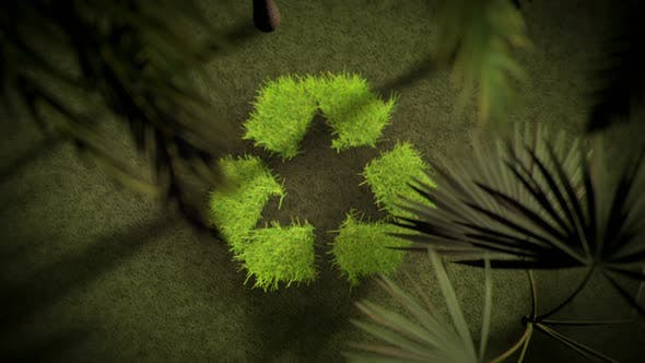 Thumbnail for Green Earth Environment Friendly Recycle Logo