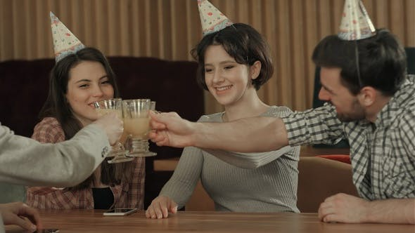 Thumbnail for Laughing and celebrating birthday