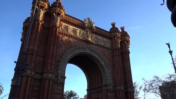 Thumbnail for Triumph Arch in Barcelona spain
