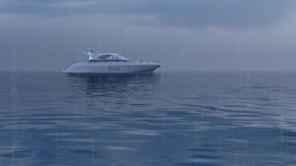 Luxury Yacht and Boat Chase
