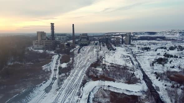 Thumbnail for Coalmine, Coal Processing Plant Aero