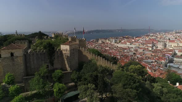 Thumbnail for S. Jorge Castle and Old City of Lisbon, Portugal