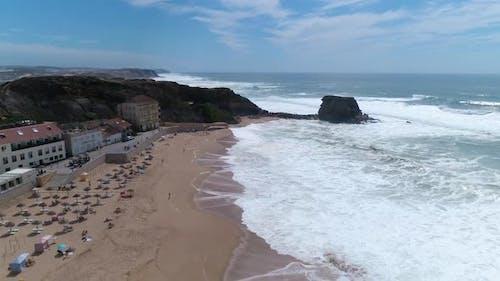 Waves Reaching the Coastline