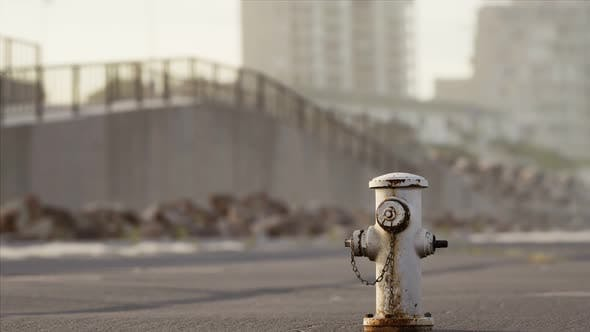 Thumbnail for Rusty Fire Hydrant at Sunny Day