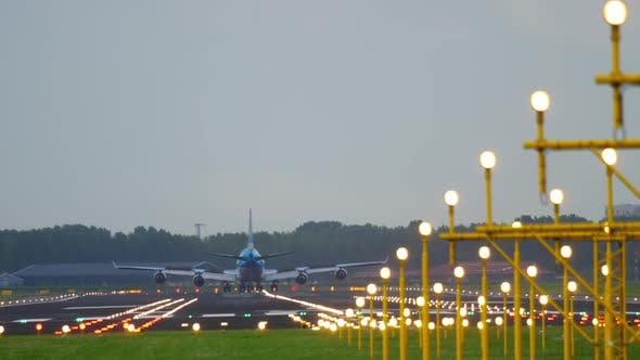 Thumbnail for Airplane Landing at Runway 18R