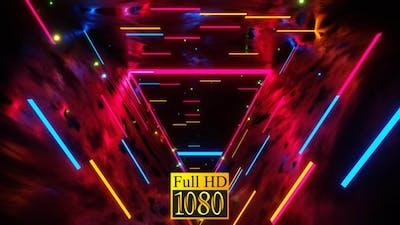 Wow Triangular Tunnel Vj Loop HD