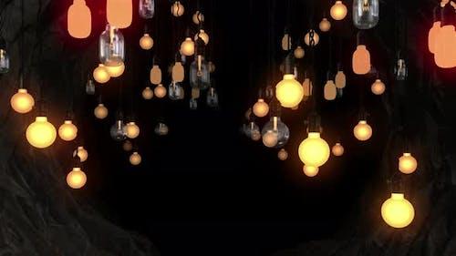 Light Bulb Tunnel 01 4k