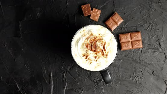 Thumbnail for Cup of Cacao with Whipped Cream