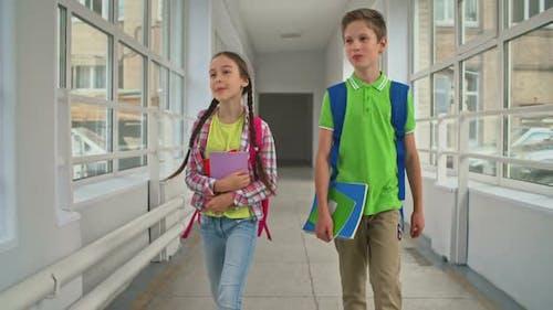 Elementary School Couple