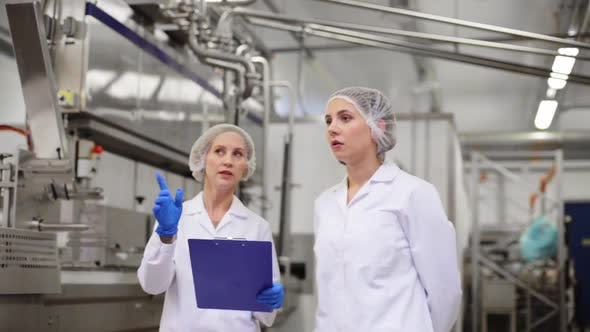 Thumbnail for Women Technologists at Ice Cream Factory