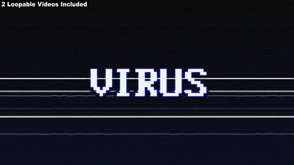 Thumbnail for Virus, Spam  Glitch Words Package