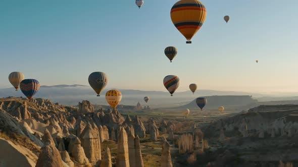 Thumbnail for Balloons Fly In Cappadocia