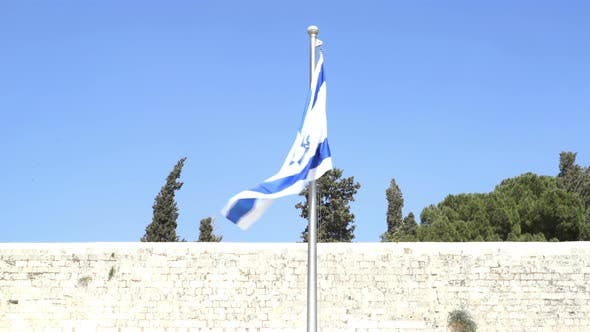 Thumbnail for Israel Flag at Western Wall.