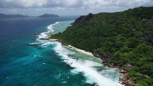 Seychelles Island La Digue island