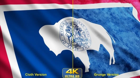 Thumbnail for Wyoming State Flags