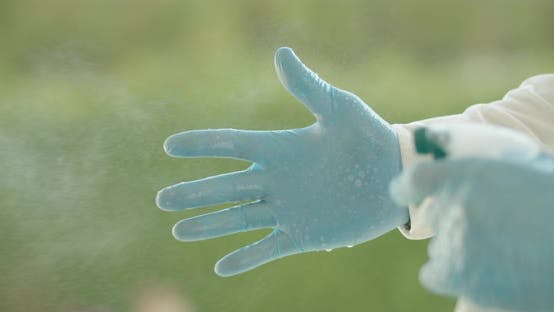 Thumbnail for Disinfecting Rubber Gloves