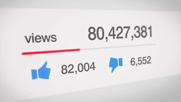 Thumbnail for Increasing Social Media View Counter