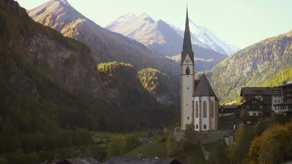 Thumbnail for Famous Church At The Heiligenblut Town