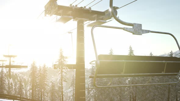 Thumbnail for Empty Ski Lift