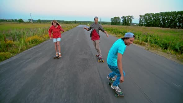 Thumbnail for Longboarding with Friends