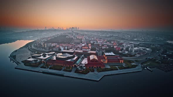 Cityscape View of Istanbul