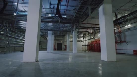 Thumbnail for Interior of Modern Power Plant
