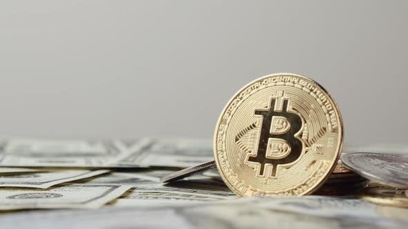Cryptocurrency, bitcoin. BTC. Bit Coin. Blockchain technology