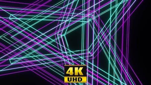 Tanzende Linien 4K