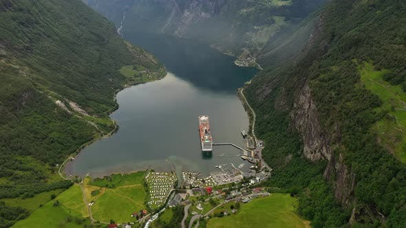 Thumbnail for Geiranger Fjord, Norway. Beautiful Nature Norway Natural Landscape.