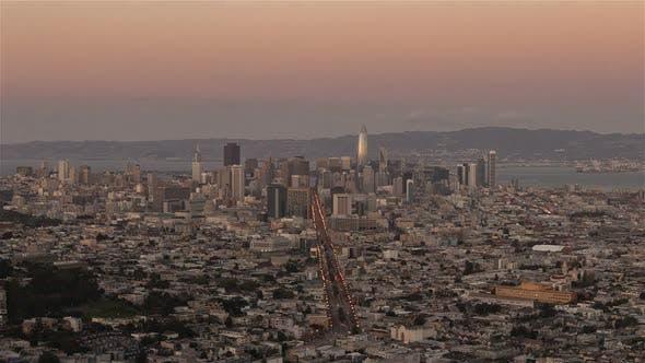 Thumbnail for San Francisco, USA - San Francisco from Twin Peak