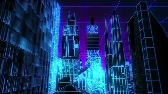 Thumbnail for Neon Cyberpunk City