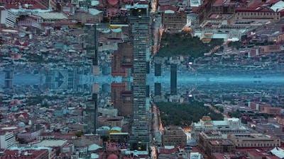 Hyperlapse Shot of Downtown During Dusk