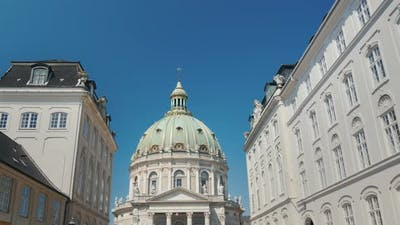 The Church of Frederick or the Marble Church Is a Lutheran Church, One of the Attractions