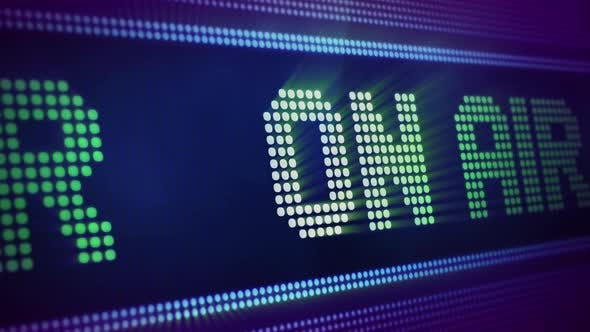 Cover Image for On Air Screen