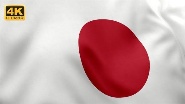 Thumbnail for Flag of Japan - 4K