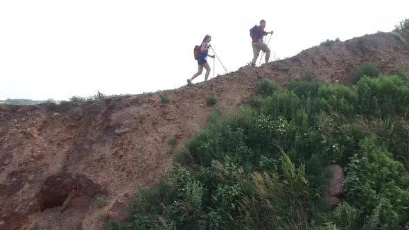 Thumbnail for Couple on Trekking Adventure