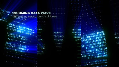 Incoming Data Wave