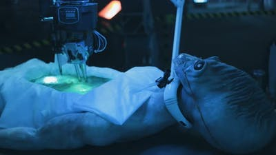 Opening the Alien in the Operating Room