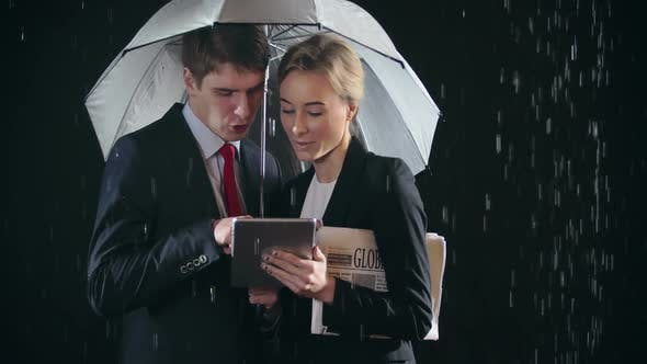 Thumbnail for Business in Rainy Day