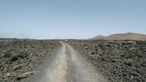 Exploring volcanic landscapes of Lanzarote, Canary Islands