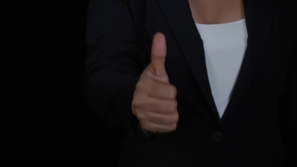 Thumbnail for Woman Gives Thumbs Up