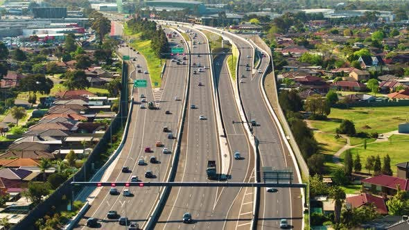 Thumbnail for Movie Style Freeway Shot