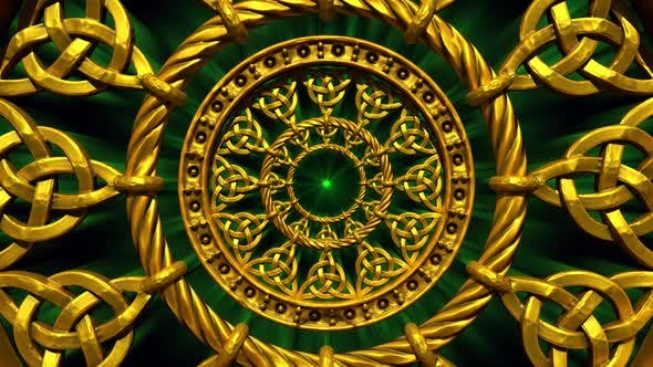 Thumbnail for Golden Celtic Knots