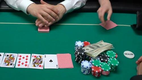 Player Ardent Joueur Clés Appartement Clés et Dernier Argent au Casino Gambling Addiction