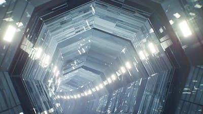 Glass Tunnel 4K Loop