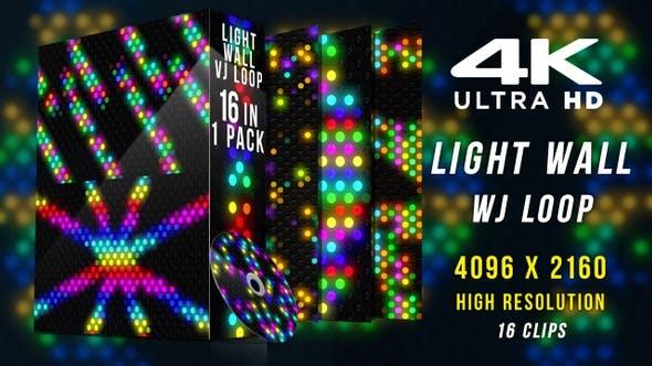 Cover Image for Light Wall Vj Loop Kit 4K